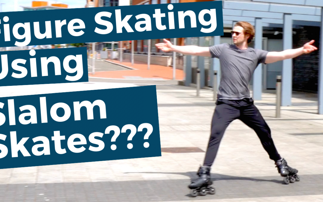 Figure Skating in Freestyle Inline Skates