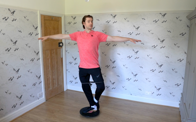 Check/control your turns better with Off-Ice exercises