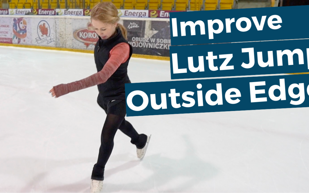 Improve the outside edge of your lutz jump