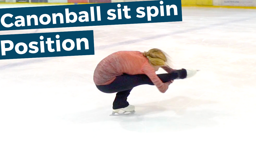 Canonball Sit Spin Position