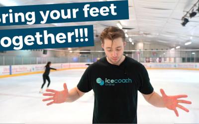 Bring your feet back together!!!!!