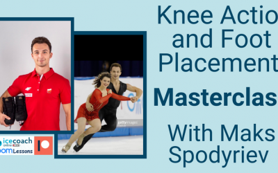 Knee action and foot placement masterclass with Maksym Spodyriev 27th February at 16:00 CET