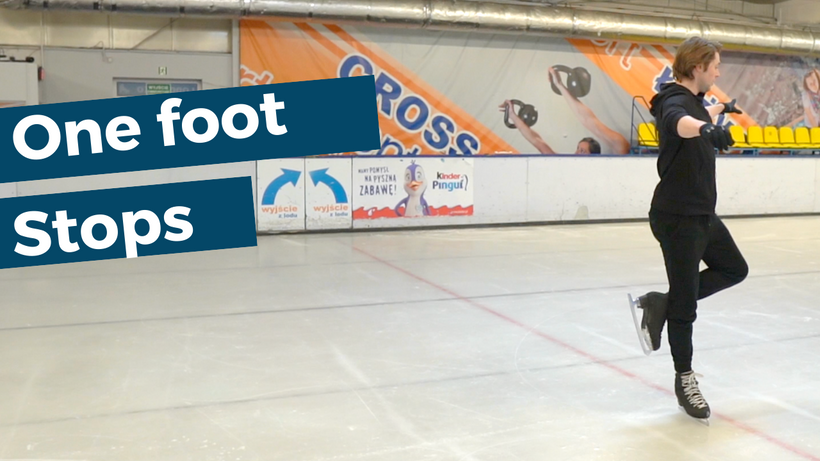 How to do one foot stops!